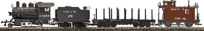 LGB 72441 - Freighttrain Starterset Santa Fe - USA Exclusive No transformer