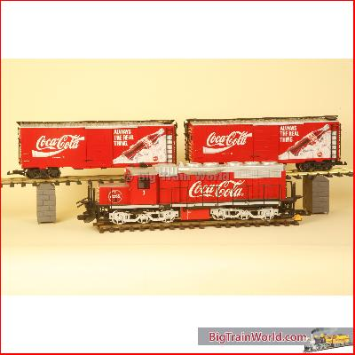 LGB 72854-used - LGB coca cola superset