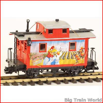 LGB 72997-1 - Warner Bros caboose from  set 72997