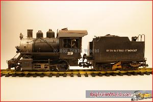 LGB 20232 - UP Steam loco with sound - Wheaterd and improved - One of a kind