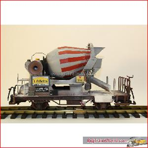 LGB 40550 - Cement Mixer Car, weathered by Magnus