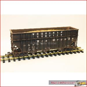 Magnus /  USA Trains 14079 - Woodchip Car DRGW  verouderd en gesuperd 12-12-06