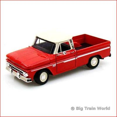 Motormax 73200AC1 - Chevy C10 Fleetside Pickup 1966, 1:24
