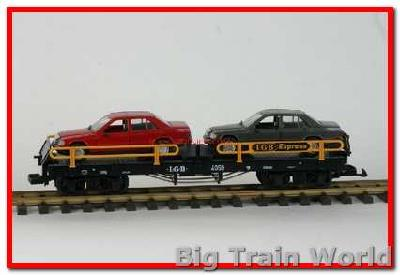 LGB 4059a - Autotransporter with 2 x mercedes, used, with box