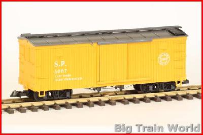 LGB 4067 - Boxcar  S.P. type 2 LT.WT.17900, yellow box