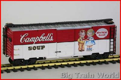 LGB 41911 - CAMPBELLS SOUP car - New, but the box has water damage