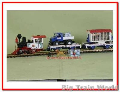 LGB 70900 - Circus starter set, in good condition, with box