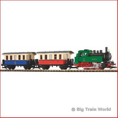 Piko 37130 - Starter set, passengertrain with steam loco