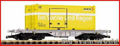 Piko 37715 - G-Flachwg. mit Container Post SBB V
