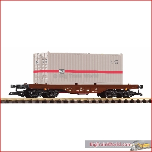 Piko 37747 - G-Containertragwg. mit 20 ft. Container DB IV - New 2020