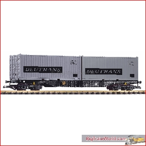 Piko 37752 - G-Containertragwg. mit 2 Containern Deutrans DR IV  - New 2020