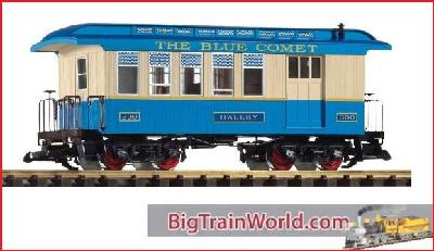 Piko 38622 - CNJ Wood Coach, Blue Comet #2 - new 2014