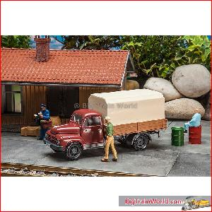 Pola 331861 - Borgward with platform and tarpaulin - New 2017