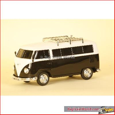 Prehm-Miniaturen 530003 - VW Bus T1, FM radio, mp3, lighting - Black - 1:22,5