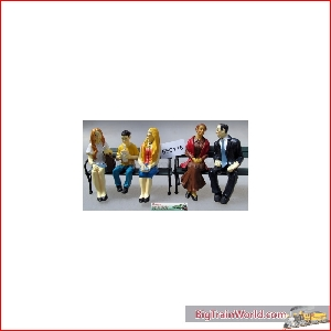 Prehm-Miniaturen 550118 - Sitzende Reisende 5 Figuren Set 3 - NEW 2015