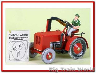 Tucher & Walter 404 - Tracktor with Mower