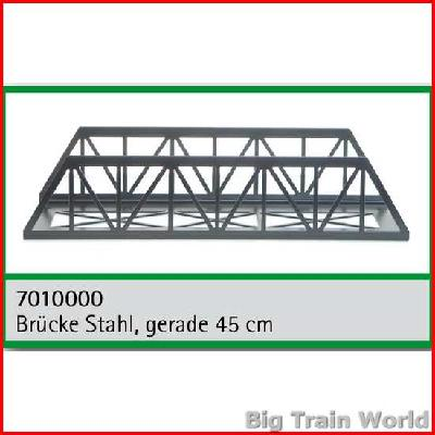 Train Line45  7010000 - Lattice truss bridge, 45cm straight
