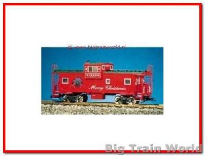 USA Trains R12114 - Christmas Extended visionb Caboose