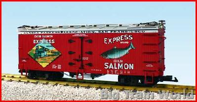 USA Trains R16323 - EXPRESS SALMON-RED/SIVER