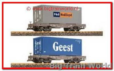 LGB 49085a - Geest/P&O Nedloyd Containerset