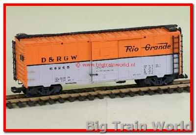 LGB 4091 - Boxcar  der D & RGW with box