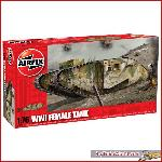 Airfix 02337 - WWI FEMALE TANK S2 1:76