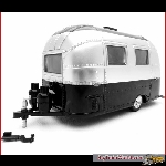 American Diorama 18226 - bambi airstream sport, aged silver