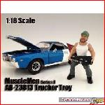 American Diorama 23813 - 1/18 Musclemen II *Trucker Troy* (car not included).