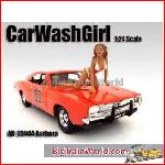 American Diorama 23944 - 1/24 Car Wash Girl *Barbara* (Car Not included).