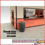American Diorama 23986 - 1/24 set with 2 Trash Cans