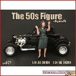 American Diorama 38254 - 1/24 50s style figure iv
