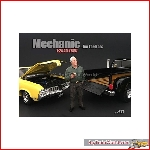 American Diorama 77497 - 1/24 mechanic figure *jim the boss*