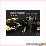 American Diorama 77498 - 1/24 mechanic figure customer patrick & dog