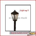 American Diorama 77720 - 1/24 Working Street Lamp assortment (set of 2).