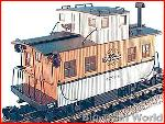 Aristo Craft 42210 - Bobber caboose Denver & Rio Grande, good condition, box
