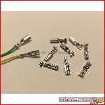 Push-on stecker for LGB - decoder / ballbearingwheels, PCB, etc. (10 pcs)