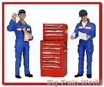 Bachmann 22-169 - TRACTION MAINT. DEPOT WORKERS G