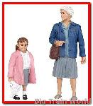 Bachmann 22-174 - SHOPPING PEOPLE G