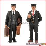 Bachmann 22-177 - Station master and porter - New 2015