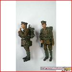 Bachmann 22-182 - Two Embarking Soldiers G Scale Figure - New 2015