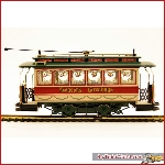Bachmann 25127 - Christmas Tram - On30