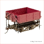 Bachmann 29801 - WOOD SIDEDUMP CAR 3 BOX