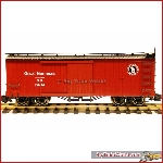 Bachmann 93311 - Box car Great Northern, metalen wielen