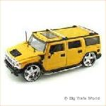 Jada 90403G - Hummer H2 yellow 1:24