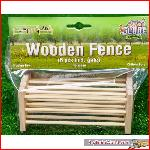 Kids Globe Farming 610102 - Wooden Fence, 6 pcs