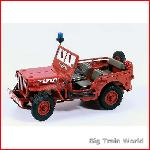Kaden 386063 - Willys Jeep MB Red 1:24