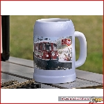 Beer mug with 50 years LGB logo - LGB 012476