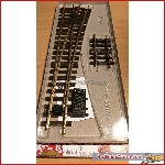 LGB 18050 - R5 switch Right, with elek. drive 12010 - used, excellent condition