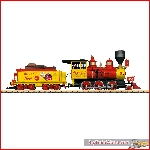 LGB 20282 - Coca Cola® Mogul Steam Locomotive; III - New 2020