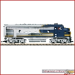 LGB 20585 & 20587 - Santa Fe Bluebonnet  F7A + B unit - Exp. deliv Jan 2021